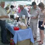 Kunsthandwerkermarkt Quedlinburg im August 2009