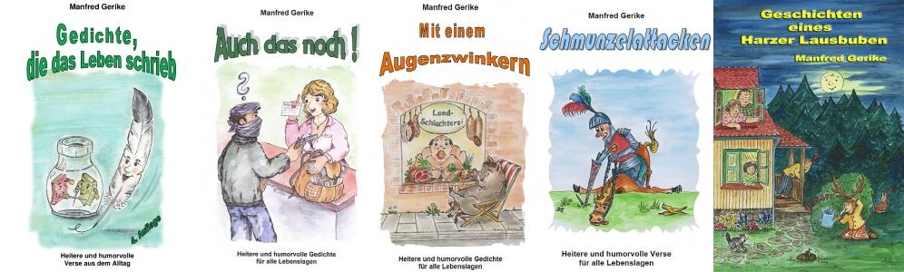 Alle Werke des Autors Manfred Gerike.